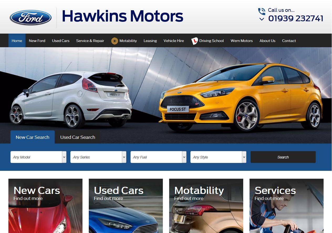 New Website Launch Hawkins Motors Latest News