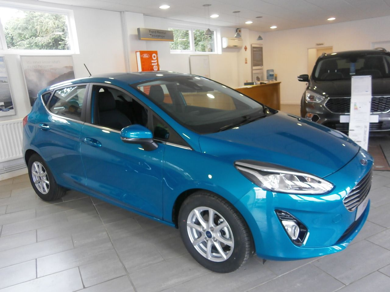ALL NEW FIESTA  in our showroom now