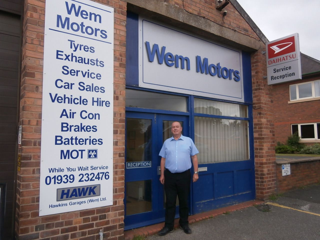 Wem Motors is moving ...
