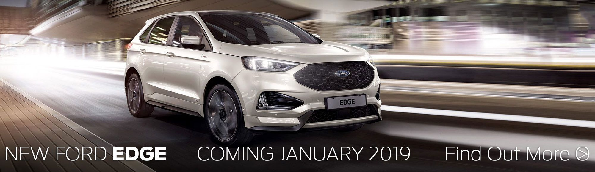 New ford edge coming january 2019