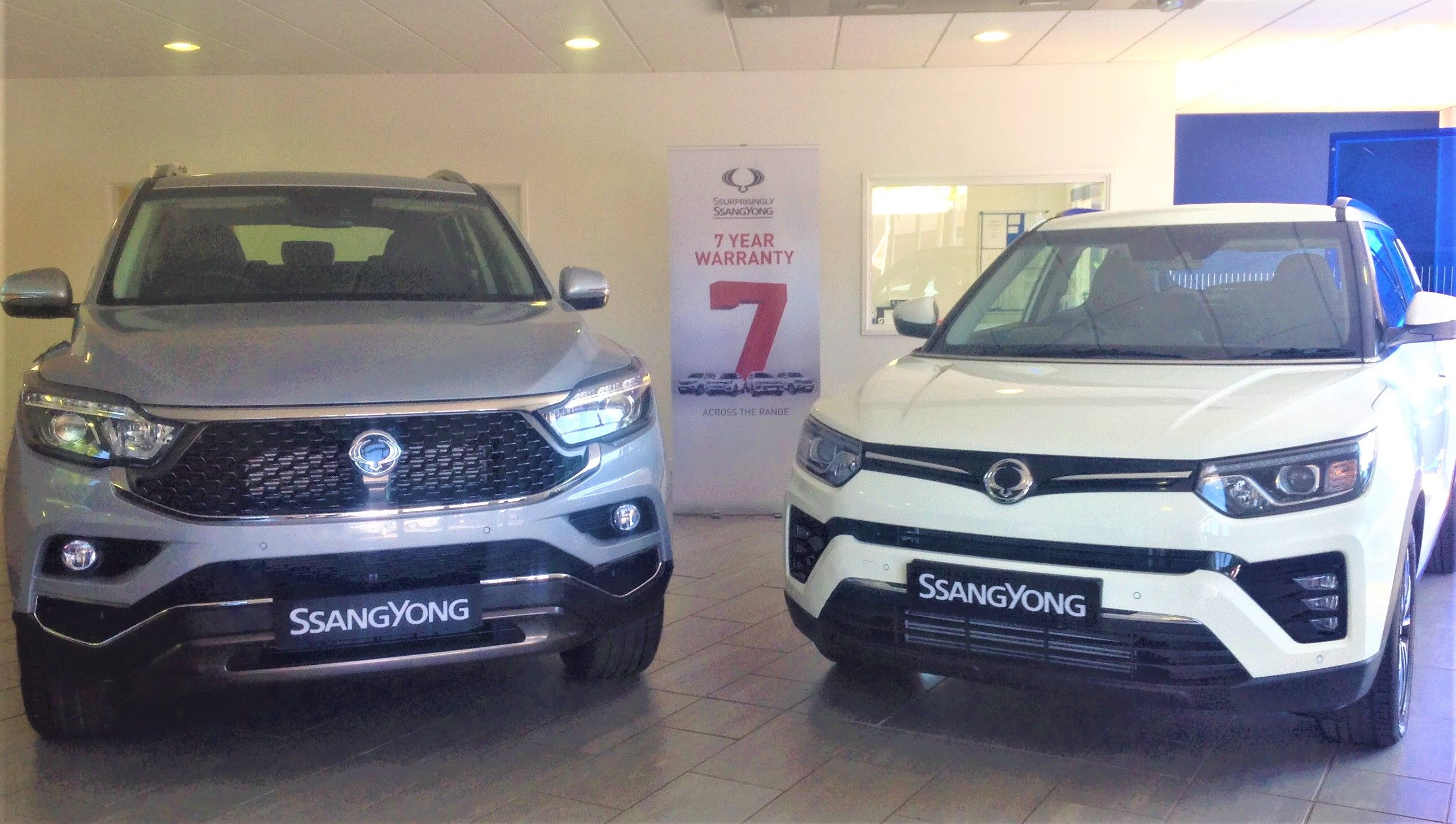 SsangYong is here